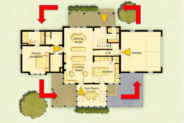 Redberry Home Plan Description